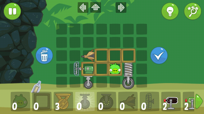 Bad Piggies sibabi hijau