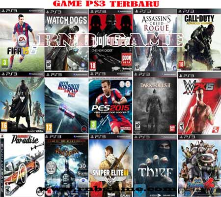 Update List Game PS3 ( jasa instal game PS3)