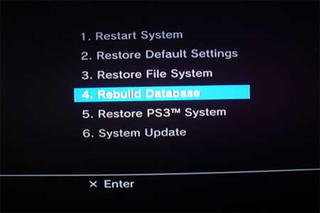 PS3-Rebuild-Database