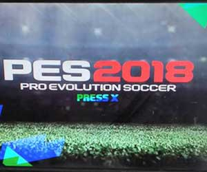 Pro Evolution Soccer 2018 PS2 v2