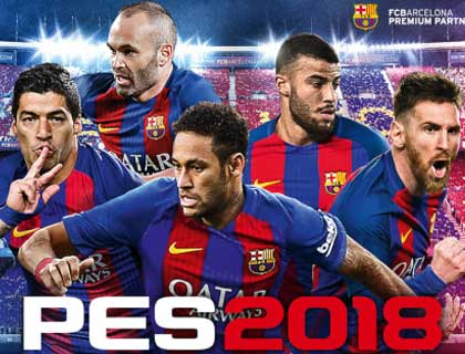 PES 2018 PS3 Option File Kits, Name and Logo