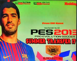 PES 2013 PS3 Summer Transfer 2017-2018 Patch by Zio