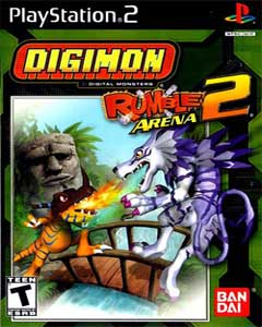 Digimon Rumbe Arena 2 PS2 Game