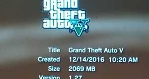Update Patch GTA V PS3 BLES01807 1.06 – 1.27 Single Link