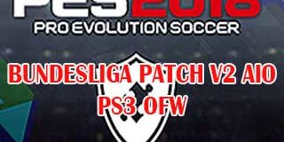 PES 2018 PS3 OFW Bundesliga Patch v2 AIO