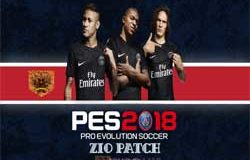 PES 2018 PS3 ZiO Patch + DLC 1.0 + Tattos pack