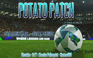 PES 2018 PS3 Potato Patch