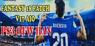 PES 2018 PS3 Fantasy 18 Patch v17 AIO OFW HAN (by Yanuar Iskhak)
