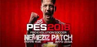 Nemeziz Patch PES 2018 DLC 4.0 PS3 OFW HAN
