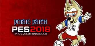 PES 2018 PS3 Potato Patch V5 AIO for CFW BLES-BLUS