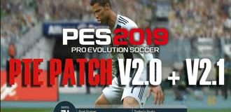 PES 2019 PTE Patch v2.1 (Patch PTE PES 2019 PC)