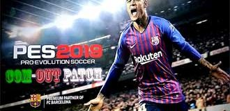 PES 2018 PS3 CONVERT PES 2019 COM-OUT PATCH FREE