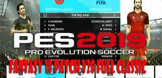 PES 2018 PS3 Fantasy 18 Patch Update V28 Full Classic by Yanuar Iskhak