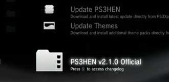 Update PS3 HEN V2.1.0 Terbaru