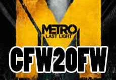 Metro: Last Light PS3 CFW2OFW