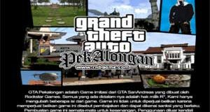 GTA Pekalongan PS2 Game