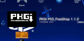 PKGi Freeshop PS3 HEN