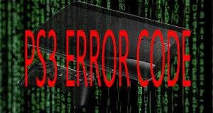 PS3 Error Code Offline Database 1.0