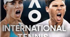 AO International Tennis PS4 Game PKG
