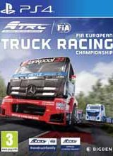 FIA European Truck Racing Championship PS4 PKG
