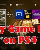 Cara Main Game PS2 di PS4 HEN