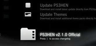 Update PS3 HEN V2.1.0 Terbaru
