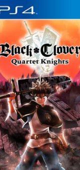 Black Clover Quartet Knights PKG Game PS4