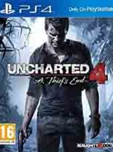 Uncharted 4 A Thiefs End PS4 Game PKG