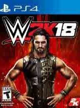 WWE 2K18 PS4 Game PKG